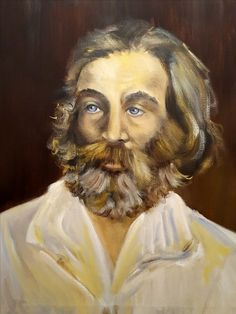 Walt Whitman (poeta)  oleo/lienzo  65x81
