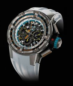 This stunning RM 60-01 Regatta Voiles de Saint Barth watch from Principal Partner Richard Mille was up for grabs at this years event. Credit Richard Mille