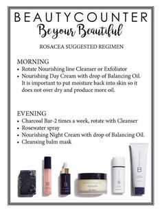 Beautycounter suggested routine for Rosacea