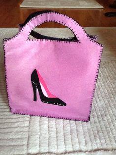 Keçe Ayakkabı çantası, Felt shoes bag