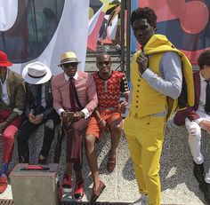 Squad from the southern tip of Africa and far west at #PittiUomo90