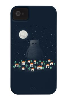 The Night Guardian Phone Case for iPhone 4/4s,5/5s/5c, iPod Touch, Galaxy S4
