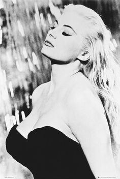 "Anita Ekberg, from the movie ""La Dolce Vita"" by Federico Fellini, Italy, 1960"