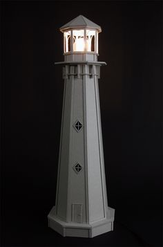 Lighthouse plans midsize 58 inch tall wood diy lighthouse lighthouse by vera van wolferen sciox Image collections