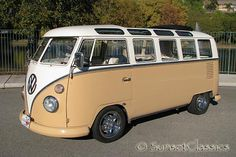 """1964 21 Window VW Bus for Sale: California Deluxe Bus  """"I so want this!!"""""""