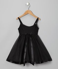 Black Babydoll Skirted Leotard | Daily deals for moms, babies and kids