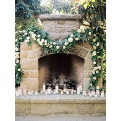 """This magical setting looks like it's straight from the #storybooks! All of the #candles add so much romance! #weddingdecor #CaliforniaWedding 