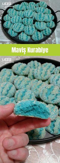 Maviş Kurabiye Blue Cookies, Cookie Recipes, Food, Tailgate Desserts, Sweets, Eating Clean, Cooking Recipes, Princesses, Hanging Curtains