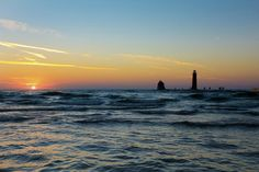 """Lake Michigan Sunse"