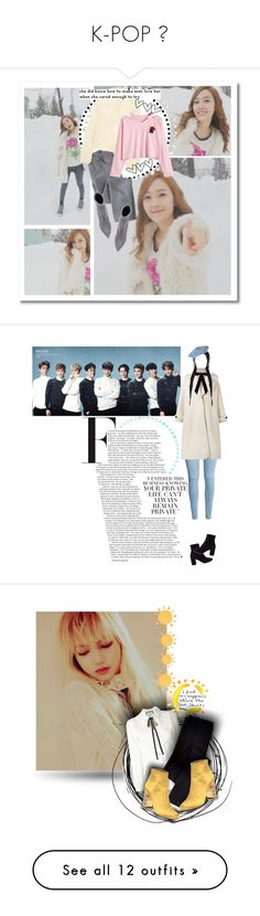 """K-POP ❤"" by dianasimonson ❤ liked on Polyvore featuring Wrap, STELLA McCARTNEY, Felina, Casadei, Olympia Le-Tan, WithChic, Balenciaga, Jennifer Behr, Gucci and Boden"