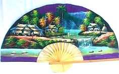 Web Page Under Construction Ninja Gear, Large Fan, Wall Fans, Under Construction, Hand Fan, Waterfall, Hand Painted, Waterfalls