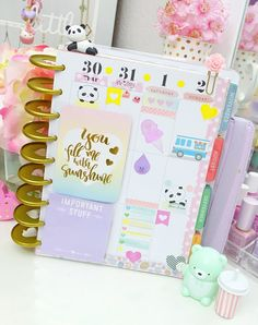Happiness is Scrappy: Planning Fun With The Happie Scrappie Kit