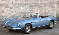 1967 Ferrari 330 GTS Maintenance of old vehicles: the material for new cogs/casters/gears could be cast polyamide which I (Cast polyamide) can produce