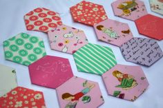 Sewing Hexagons