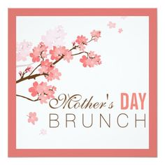 MotherS Day Brunch Or Event Flyer Or By Mariecouturedesigns