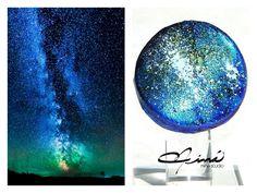 "Anillos ""Vía Láctea"", ""Milky Way rings #UnicaConNinaStudio #rings #handmade #milkyway #Vialactea #VenezuelanDesign  #PicOfTheDay #AmazingAccesories AffordableLuxury"
