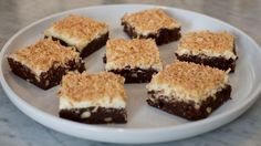 Get this all-star, easy-to-follow Toasted Coconut Brownies recipe from Eddie Jackson