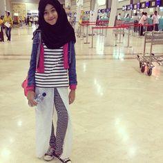 Haaiii Malaysia   Still With The upcoming @hijabchic Collection  #awesome #shirinhijabchic