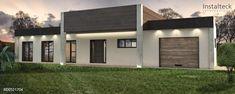 Modelo de casa modular 205. Exterior 1