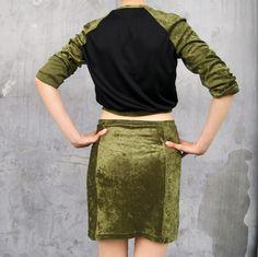 diy panel skirt