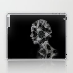 Portrait of girl Y Laptop & iPad Skin