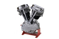 "Replica Harley Davidson Panhead Motor 74"" Long Block Engine #VTwinManufacturing"