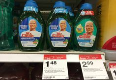 Moneymaker on 5 Mr. Clean Cleaners at Target!