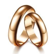 fashion Gloss Couple Bands Rings For Weddings For Men And For Women Rose Gold Plated Rings(China (Mainland)) Couple Bands, Couple Jewelry, Gold Plated Rings, Buying Wholesale, Rose Gold Plates, Band Rings, Plating, China, Weddings