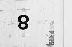 8 / artwork, typography