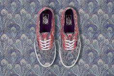 Vans x Liberty Art Fabrics 2013 Holiday Collection | HUH.