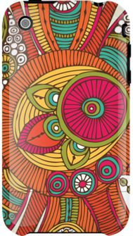 I do so love these colors... fun iPhone covers