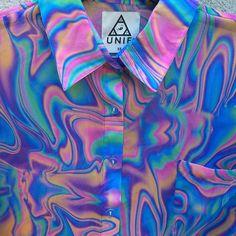 camisa estilo seapunk
