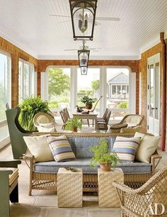 Looking for outdoor decorating ideas? These sublime porches and terraces are perfectly outfitted for summer