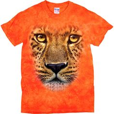 [Tie Dye Tee] - Oversized Leopard - Artopia | With the Tie Dye pattern, no two shirts are the same!Our Tie Dye Tee is made with 5.3 oz. 100% cotton and is preshrunk.