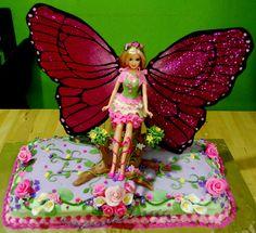 tortas de barbie mariposa II- Buscar con Google