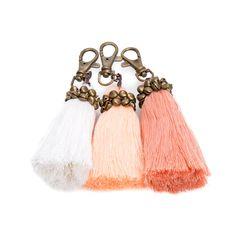 Tassel keychain,Keychain accessories,Keychain bag,Keychain cute,keychain fabric,Keychain pom pom,Keychain purse,Bag tassel,Boho keychain by MAYFIFTEEN on Etsy https://www.etsy.com/listing/259853458/tassel-keychainkeychain