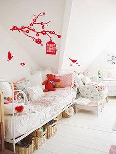 Une chambre de fille comme une chambre de princesse