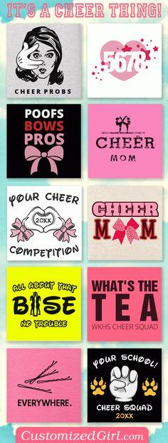 Custom Cheerleading Shirts #cheer #cheerleading #cheerleader #cheerislife #cheerbow