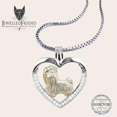 Pet Memorial Rainbow Bridge Pendant Jewelry Handmade Sterling Silver And 14k Gold M14-PT