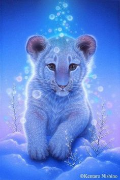 The Effective Pictures We Offer You About animal wallpaper jungle A quality picture can tell you man Cute Animal Drawings, Cute Animal Pictures, Cute Drawings, Anime Animals, Animals And Pets, Funny Animals, Wild Animals, Big Cats Art, Cat Art