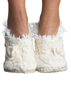 Loving this Polar Faux Fur Slipper Socks on #zulily! #zulilyfinds