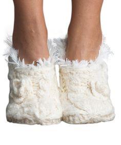 Look what I found on #zulily! Polar Faux Fur Slipper Socks #zulilyfinds