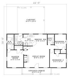 Simple cottage plan by MyohoDane my future home Pinterest
