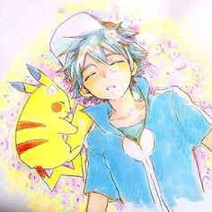"""Résultat de recherche d'images pour """"pokemon ash sleeping"""""""