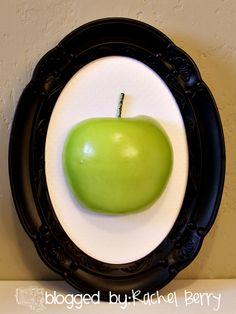 The Rachel Berry Blog: { Framed Fruit - Dollar Tree Style }