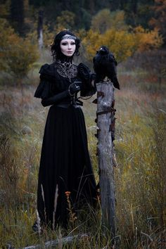 Strega's Forest - ✯ http://www.pinterest.com/PinFantasy/lifestyles-~-gothic-fashion-and-fantasy/