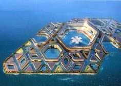 Futuristic floating city pt1