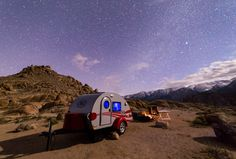 Glamping in Alabama Hills | by optimalfocusphotography