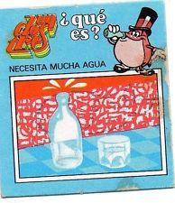 Cromo de matutano de la colección de engañatinas del un dos tres años 80. Nostalgia, Vintage, Childhood Memories, Vintage Posters, Trading Cards, Advertising, Toys, Drawings, Vintage Comics