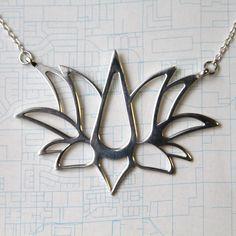 3D printed jewelry, lotus flower, sterling silver, www.lovelorimichelle.com